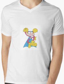 Diva Dynamite Flying Mens V-Neck T-Shirt