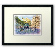 Princess Diana Memorial Framed Print
