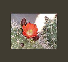 Orange Cactus Bloom with Buds Unisex T-Shirt