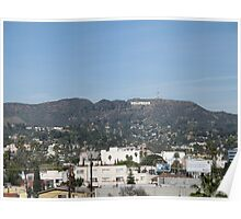 Hollywood Hills Poster