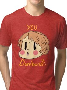 P4: Yosuke Hanamura - You DUMBASS! Tri-blend T-Shirt