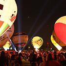 2010 Derby Festival Balloon Glow by jw8588