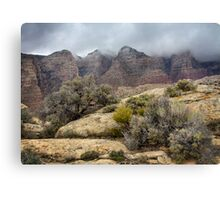 Hungry Mists Canvas Print