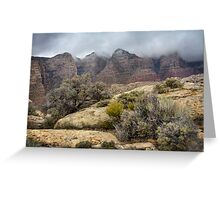 Hungry Mists Greeting Card