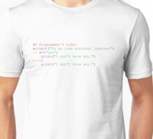 A Programmer's life be like Unisex T-Shirt
