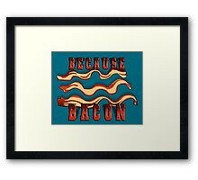 Meat Magic Framed Print