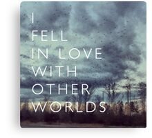 I Fell in Love Canvas Print