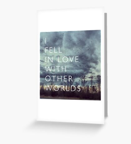 I Fell in Love Greeting Card