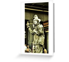 french quarter jester Greeting Card