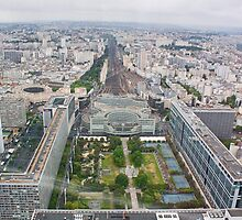 Gare Montparnasse Paris France by Buckwhite