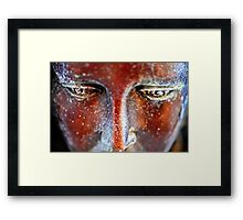 Sculpted Angel Eyes Framed Print