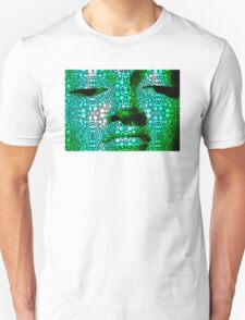 Green Buddha - Stone Rock'd Art By Sharon Cummings Unisex T-Shirt