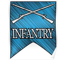 Crossed Infantry Muskets Poster