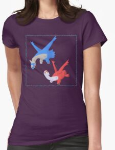 Latias and Latios Womens Fitted T-Shirt