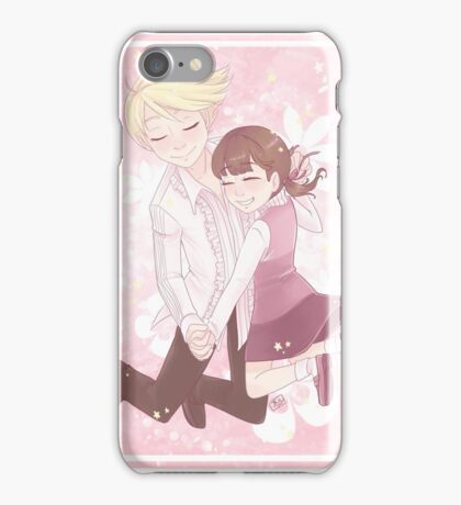 They Saved Each Other iPhone Case/Skin
