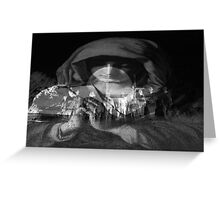 Pray For Us Greeting Card