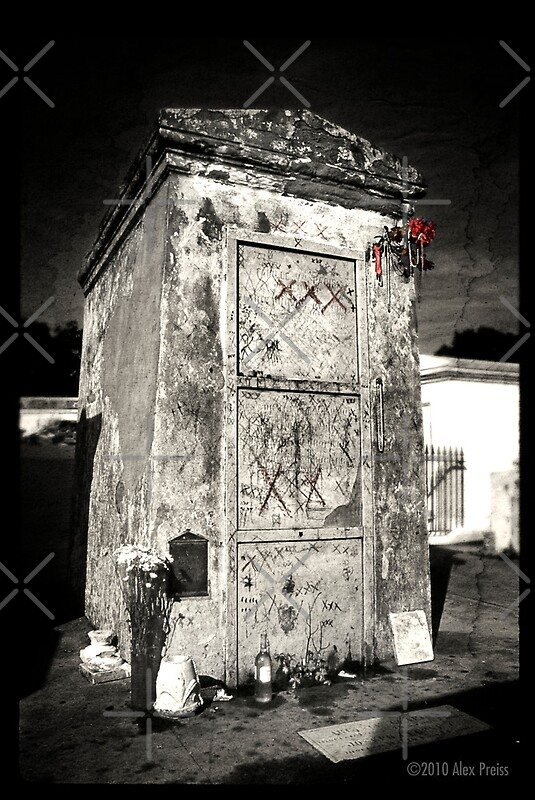 """Marie Laveau's Tomb"" by Alex Preiss 