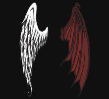 Angel & Demon Wings by John Garcia