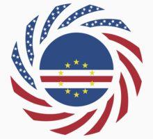 Cape Verdean American Multinational Patriot Flag Series 1.0 by Carbon-Fibre Media