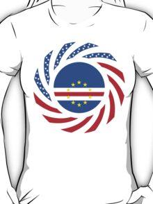 Cape Verdean American Multinational Patriot Flag Series 1.0 T-Shirt