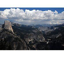 Mountains in Yosemite Photographic Print