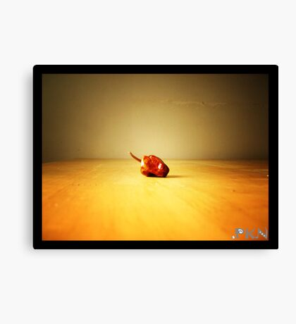 chilli Canvas Print