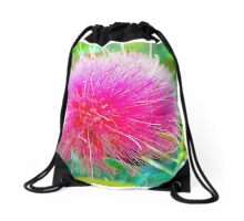 Bottle Brush Drawstring Bag