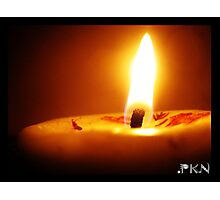 flame Photographic Print