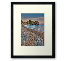 Sunset at the Door Framed Print