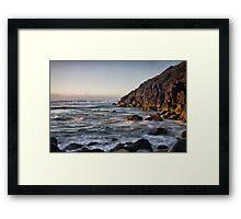 Sunrise at The Gap Framed Print