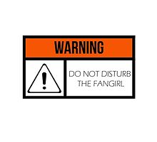 Do Not Disturb the Fangirl by Ruby Stewart