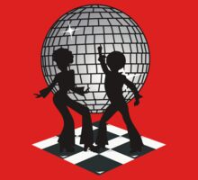 Retro Music DJ! Feel The Oldies! - Art Prints, T Shirts and Stickers Kids Tee