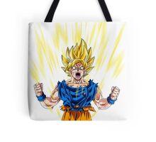 Son Goku Super Saiyan Tote Bag