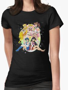 Sailor Moon Super S Womens Fitted T-Shirt