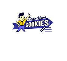 Earn Your Cookies Photographic Print