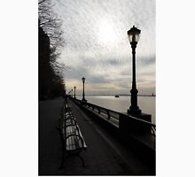 A Quiet, Peaceful Esplanade - New York City, Hudson River Unisex T-Shirt