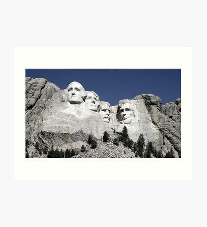 Mount Rushmore, South Dakota Art Print