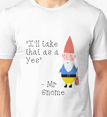 Ben and Holly's Little Kingdom- Mr. Gnome Unisex T-Shirt