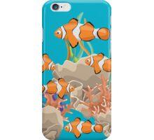 Clown Fish In The Ocean T Shirt iPhone Case/Skin