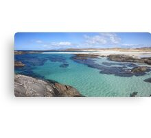 Sanna Bay on the Ardnamurchan Peninsula. Metal Print