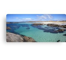 Sanna Bay on the Ardnamurchan Peninsula. Canvas Print