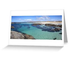 Sanna Bay on the Ardnamurchan Peninsula. Greeting Card