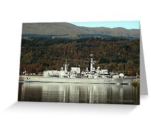 Royal Navy  Greeting Card