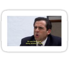 Micheal Scott Sticker