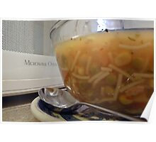 Chicken noodle soup... with extras! Poster