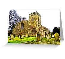 St Peters Church - Croft-on-Tees .#2 Greeting Card
