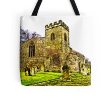 St Peters Church - Croft-on-Tees .#2 Tote Bag