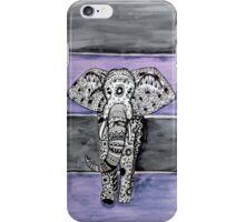Elephant Tribal Zentangle iPhone Case/Skin