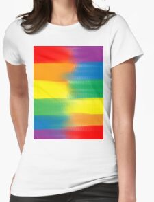 LOVE WINS INTEGRATED Womens Fitted T-Shirt