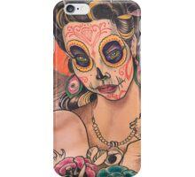 Sugar Skull Back iPhone Case/Skin